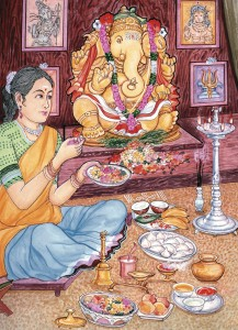 kitchen ganesha