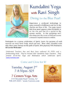 Kundalini Yoga with Ravi Singh Diving for the Blue Pearl