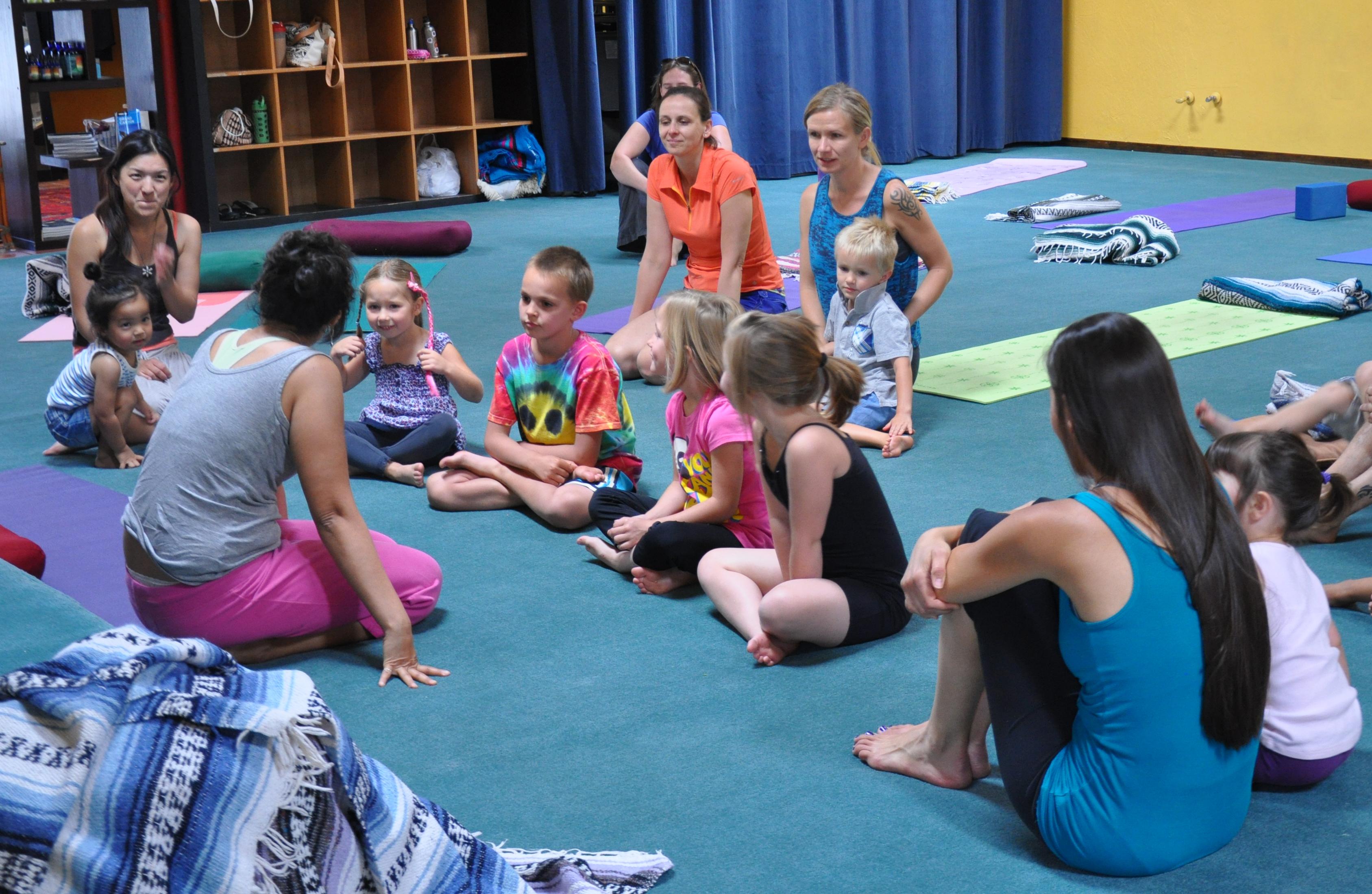 100 Hr Children's Yoga Teacher Training Program - 7 ...